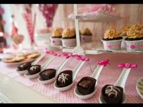 wedding shower desserts ideas
