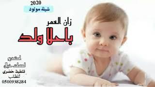 شيلة مولود ارقصو 👏🏻🔥 زان العمر باحلا ولد بشارة مولود بدون اسم