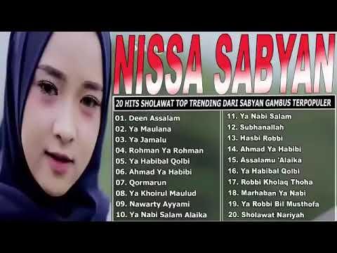 TANPA IKLAN  - NISSA SABYAN Full Album  - 20 Lagu Sholawat Nabi Paling Merdu Bikin Merinding