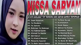 Gambar cover TANPA IKLAN  - NISSA SABYAN Full Album  - 20 Lagu Sholawat Nabi Paling Merdu Bikin Merinding