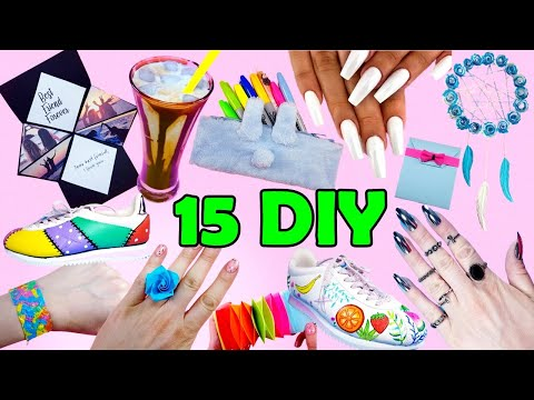 15 DIY PROJECTS TO MAKE WHEN YOU ARE BORED IN QUARANTINE AT HOME- Nails, Coffee, BFF gifts and more.