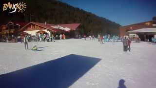 Bansko track for beginners on Bunderishka polyana(2013-2014)(Видео трасс для начинающих на бъндерица поляна по случаю посещения горнолыжного курорта Банско, Болгария/Vi..., 2014-01-02T16:18:09.000Z)