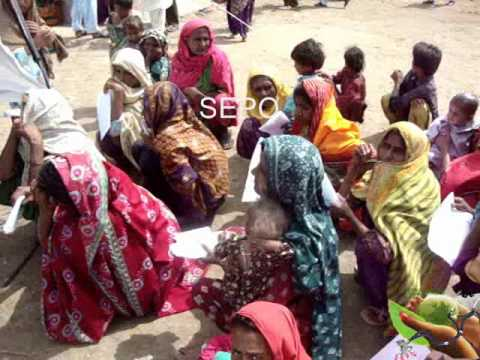 SEPO Medical Camp at District Thatta, October 9th, 2011