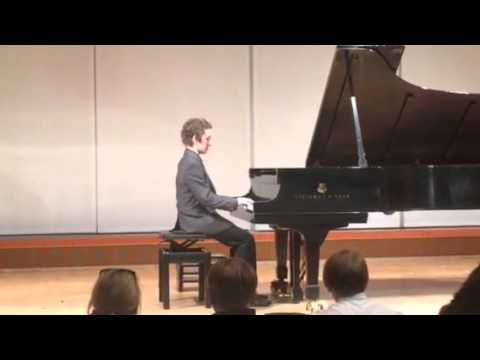Raleigh Page - advancing pianists recital