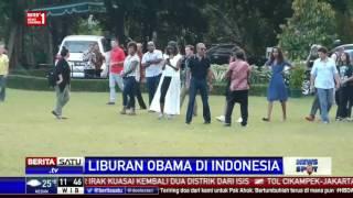 Obama Bersama Keluarganya Kunjungi Candi Borobudur