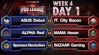 RoV Pro League Presented by TrueMove H : Week 4 Day 1