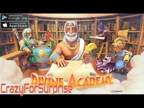 Divine Academy Gameplay Android/IOS |crazyforsurprise