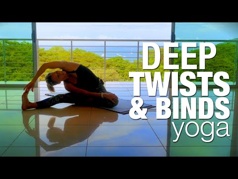Deep Twists & Binds Yoga Class - Five Parks Yoga
