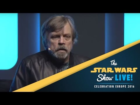 An Hour with Mark Hamill Panel  Star Wars Celebration Europe 2016