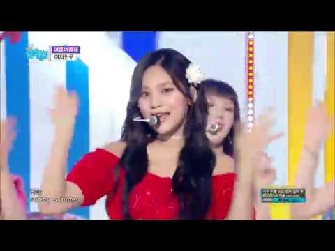 【TVPP】 GFRIEND -'Sunny Summer', 여자친구 - '여름여름해' @Show Music Core 2018