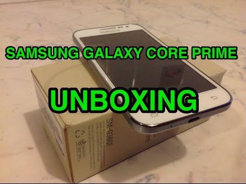 Samsung Galaxy Core Prime - unboxing ita