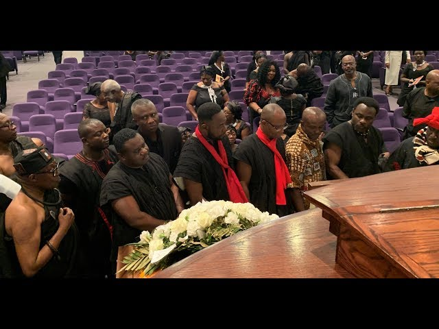 Sounds & Voices at Nana Sanaa Darko's Home Going Service & Burial