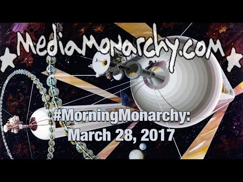 Solar Radiation & Orbiting Colonies on #MorningMonarchy: #March28, 2017