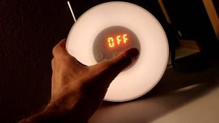 Amir Sunrise Simulation Alarm Clock Wake Up Light Review