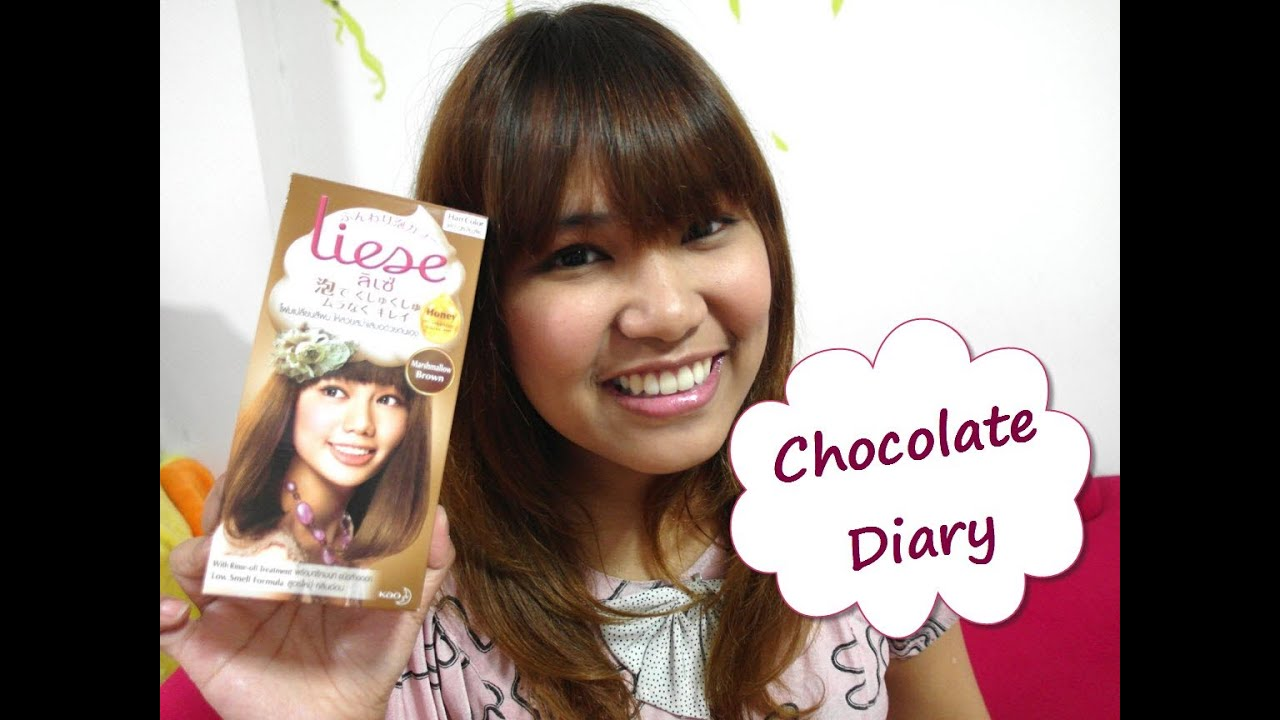 DIY Amp Review Liese Bubble Hair Color Marshmallow Brown