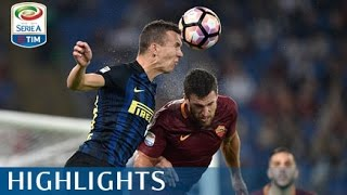 Roma - Inter - 2-1 - Highlights - Giornata 7 - Serie A TIM 2016/17
