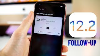 iOS 12.2 Beta 1 - Battery Life & Performance + More NEW Features!