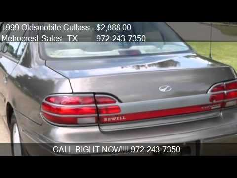 1999 oldsmobile cutlass gls for sale in farmers branch tx youtube youtube
