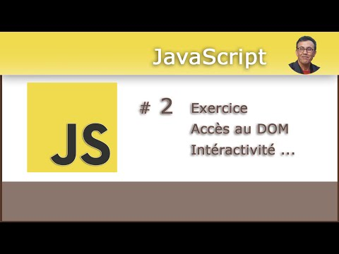 JavaScript #2 - Exercice d'application