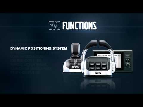 Volvo Penta Electronic Vessel Control (EVC) at work