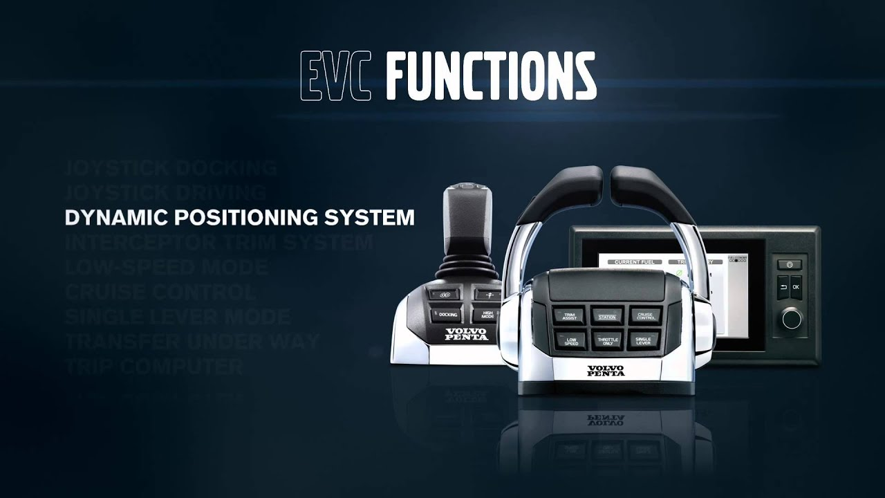 Volvo Penta Electronic Vessel Control Evc At Work