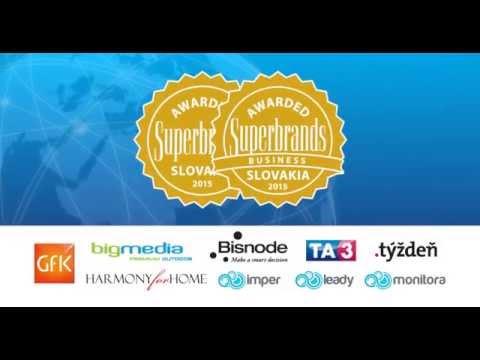 Slovak Superbrands TV Spot 2015 - v1
