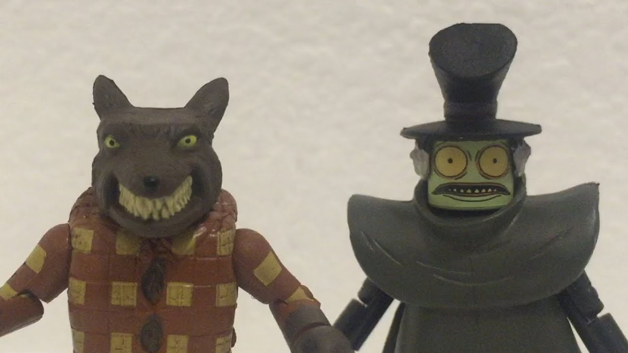 Mr Hyde Wolfman Minimates Youtube Santy claws, since they have every. youtube