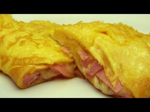 Rezept Für Omelett grundrezept omelette salami omelette rezept