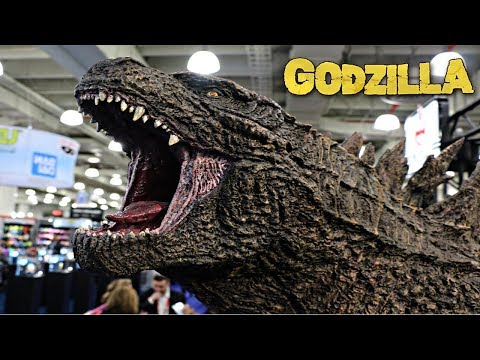Godzilla Vs Kong New York Toy Fair 2020  Godzilla Toys Neca, Playmates, Bandai WD Toys