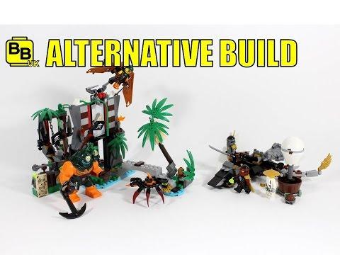 LEGO NINJAGO 70604 ALTERNATIVE BUILD COLE'S JET ATTACK