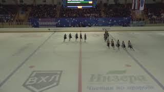 Чемпионат России по синхронному катанию KMC Короткая программа 12 Енисей KRS