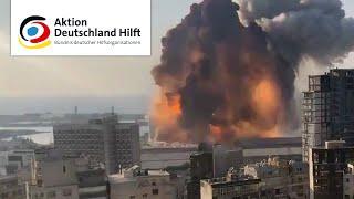Explosion Beirut/Libanon: Aktion Deutschland Hilft TV-Spot (10 sek.)