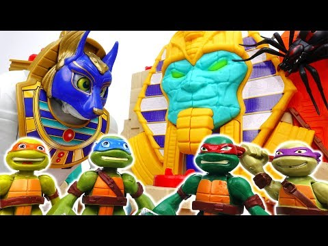 Thumbnail: COWABUNGA~! Teenage Mutant Ninja Turtles, Curse Of The Mummy - ToyMart TV