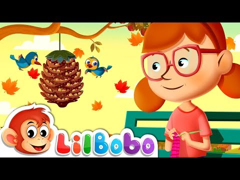 Autumn Songs for Kids - Leaves Are Falling Down   Little BoBo Nursery Rhymes   Flickbox