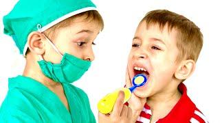 Руслан выбирает профессию доктора - Правила поведения для детей| РОМАРИКИ