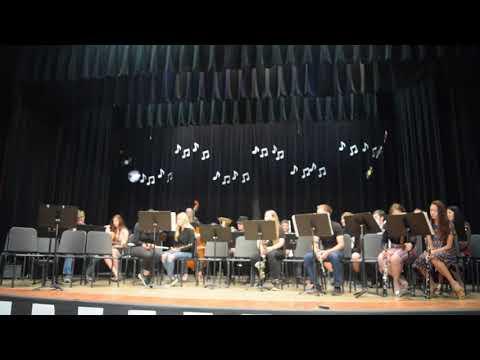 Mogollon High School Spring Band Performance 2019