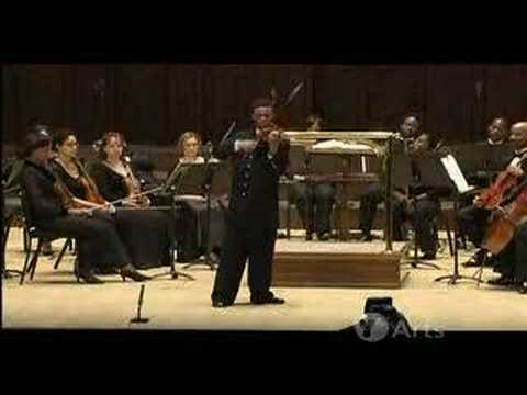 Gareth Johnson Violin Solo at Sphinx Competition '05