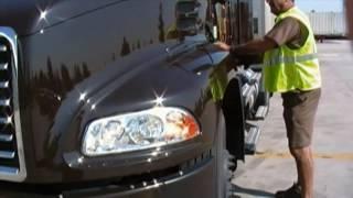 UPS Feeder Tractor Pretrip Video