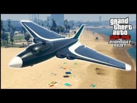 GTA V Online : Doomsday Heist | VOAMOS COM VOLATOL PLAIN