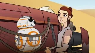 Star Wars-Forces Of Destiny Rey und BB-8 in der Ersten Vorschau-Clip