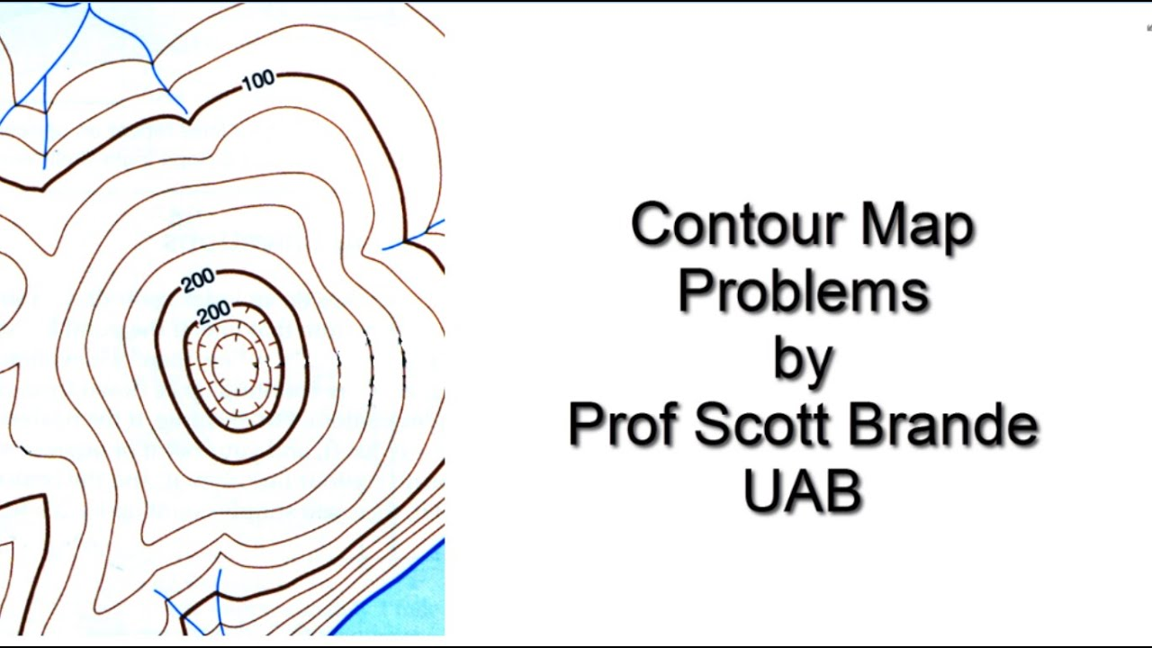 medium resolution of Determine Contour Interval and Contour Line Values - YouTube