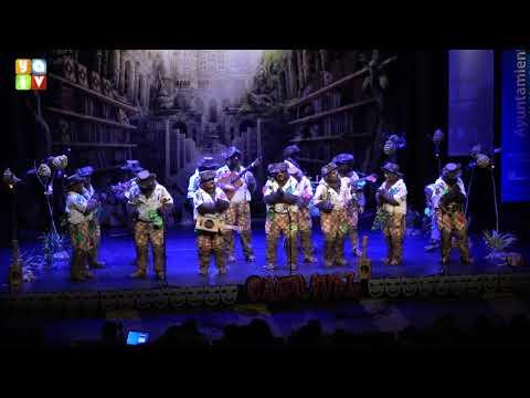 Actuación de la comparsa algecireña 'El Letargo'