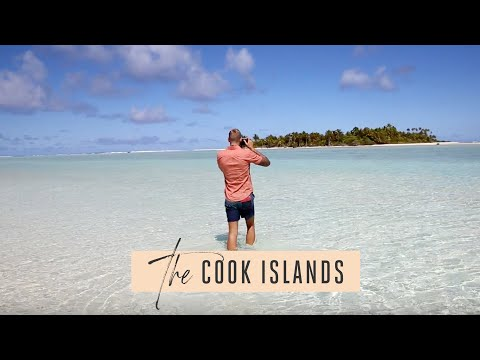J & B Global go to the Cook Islands - 50 Shades of Blue