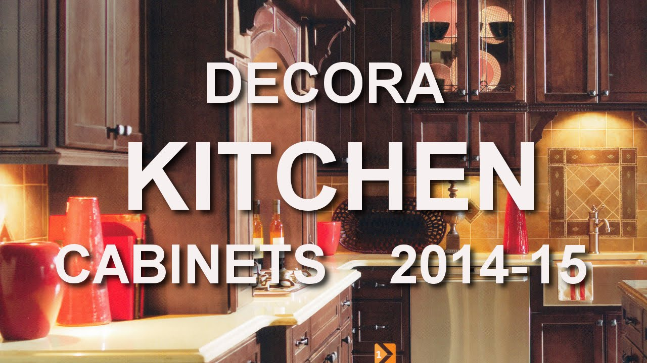 DECORA Kitchen Cabinet Catalog 2014 15 At HOME DEPOT