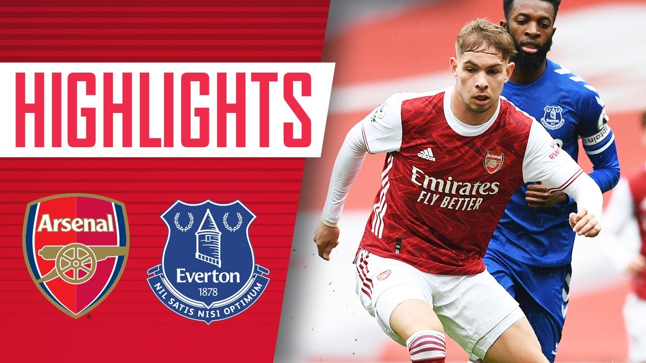 HIGHLIGHTS | Arsenal vs Everton U23s (1-0) | Smith Rowe with the winner -  YouTube