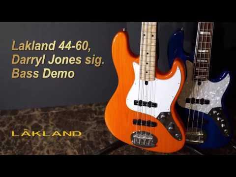 [MusicForce] Lakland 44-60, Darryl Jones Signature Demo