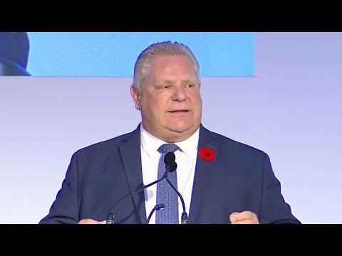 Fact-checking claims in Doug Ford's speech