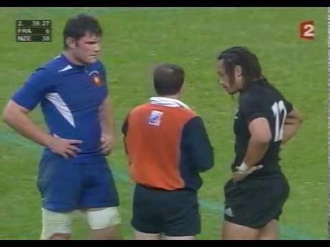Rugby - France - All Blacks - Test 2004