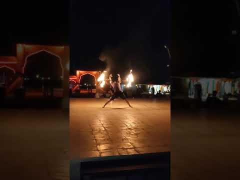 Live Fire Show @Desert Camp, Dubai