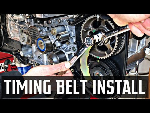 Subaru DiY   DOHC Timing Belt Install [RSTi Build]
